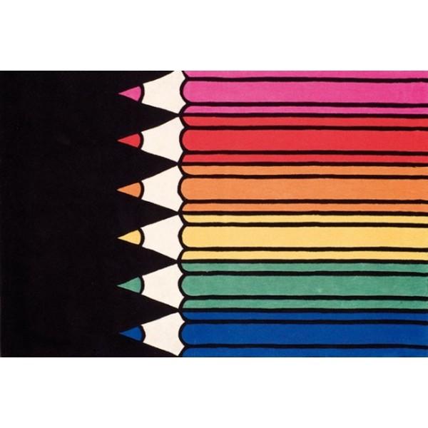 Dywan Crayons-Multi
