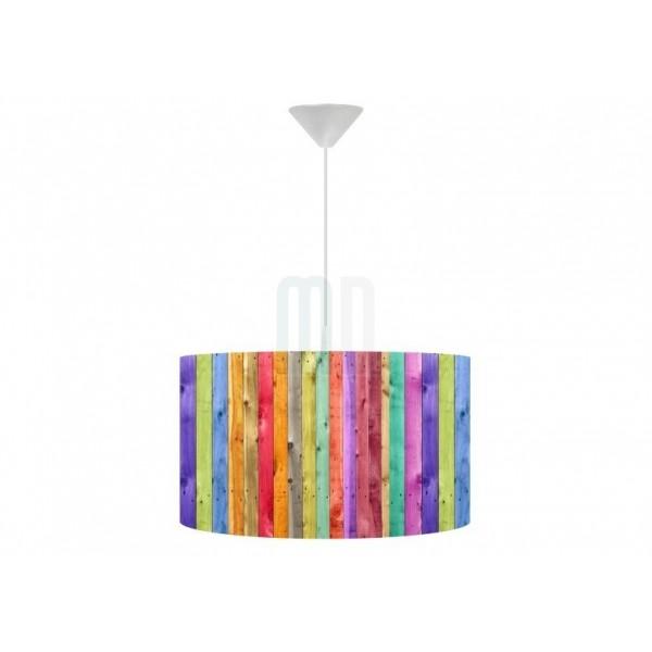 Lampa wisząca Kolorowy Płotek
