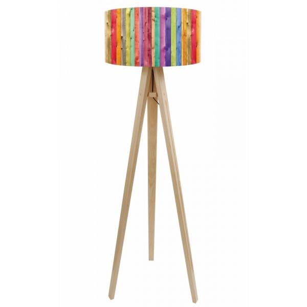 Lampa podłogowa Kolorowy Płotek