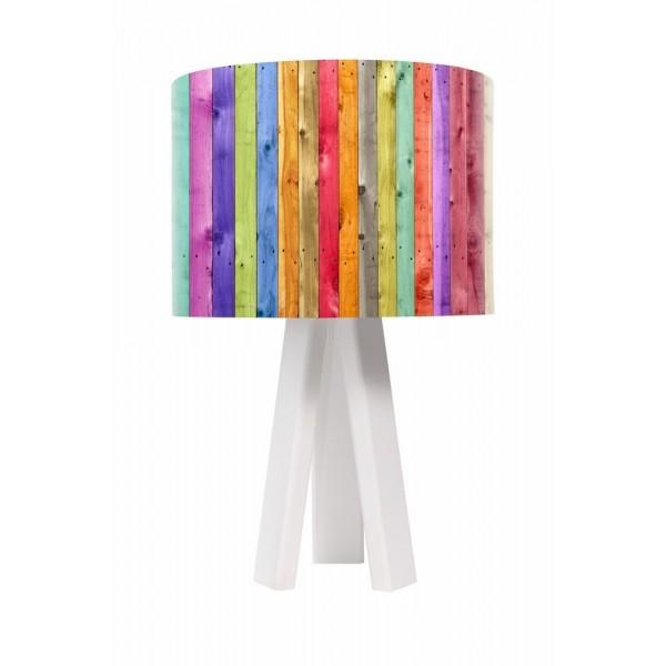 Lampa stolikowa Kolorowy Płotek