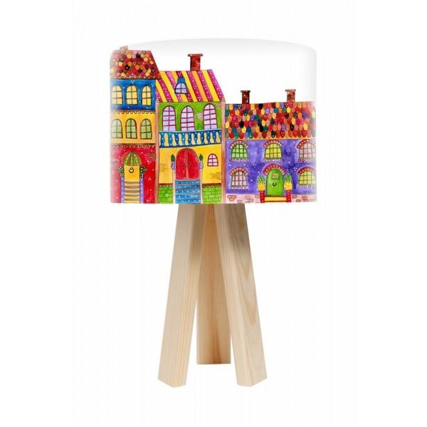 Lampa stolikowa Kolorowe Domki