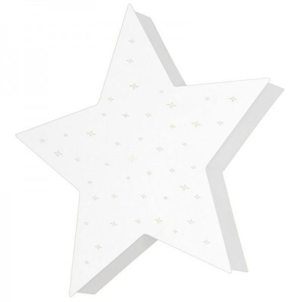 Plafon / Kinkiet Montu (Biały)