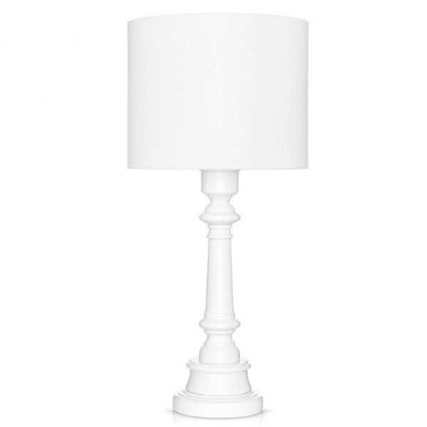 Lampa stolikowa Classic White