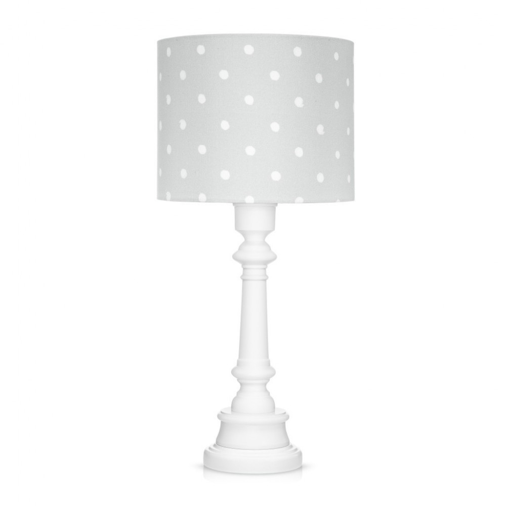 Lampa stolikowa Lovely Dots Grey