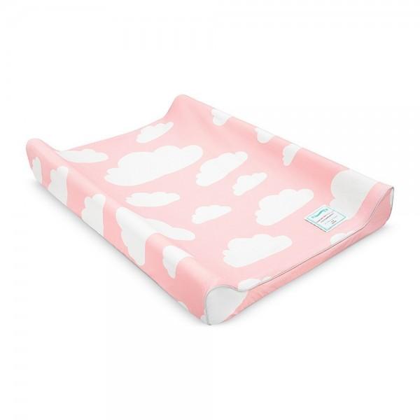 Przewijak dla niemowląt Chmurki Pink