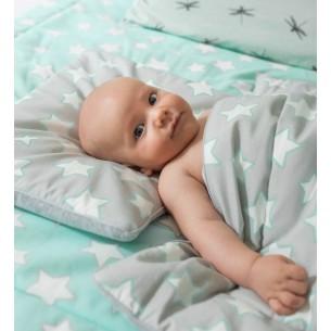 Poduszka dla dziecka Grey Stars