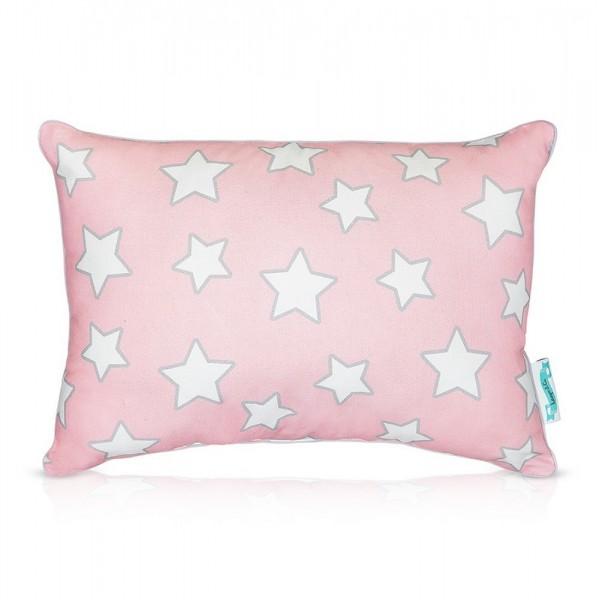 Poduszka dla dziecka Pink & Grey Stars