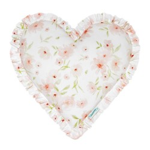 Poduszka Blossom Serce z falbanką