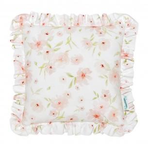 Poduszka dla dziecka Blossom z falbanką