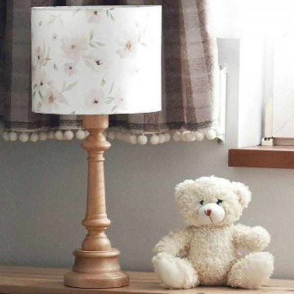 Lampa stolikowa Blossom - Olejowana podstawka