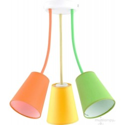 Lampa sufitowa Wire Colour 3pł