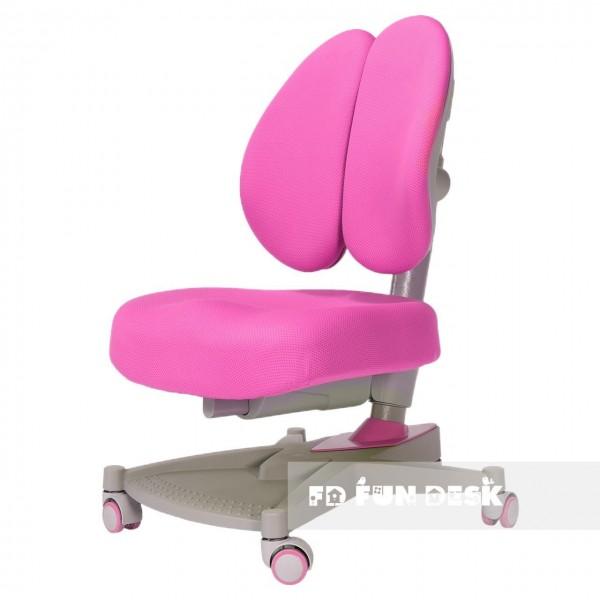 Fotel biurowy dla ucznia Contento Pink