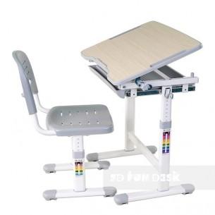 Biurko Piccolino Grey + Krzesełko regulowane