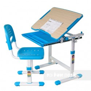 Biurko Piccolino Blue + Krzesełko regulowane