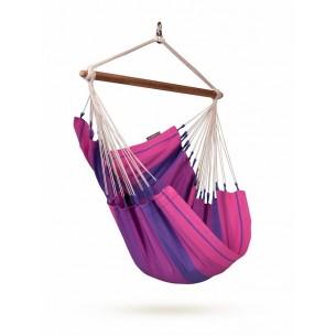 Fotel hamakowy dla dzieci Orquidea Purple