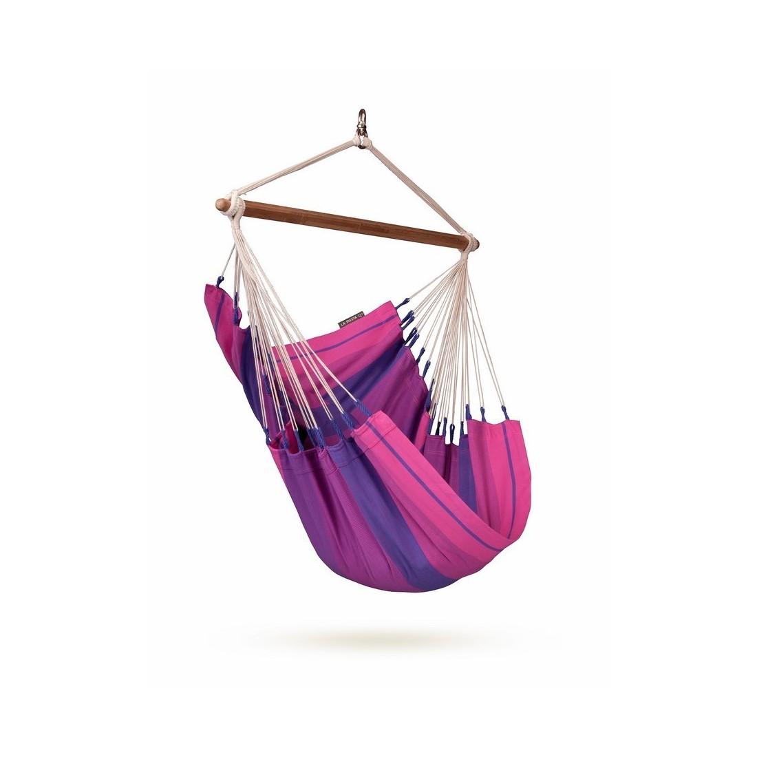 Designerski Fotel Wiszący Do Pokoju Dziecka Orquidea Purple