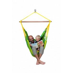 Fotel hamakowy dla dzieci Sonrisa Lime