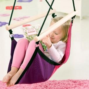 Huśtawka dla dzieci Kid's Swinger Pink